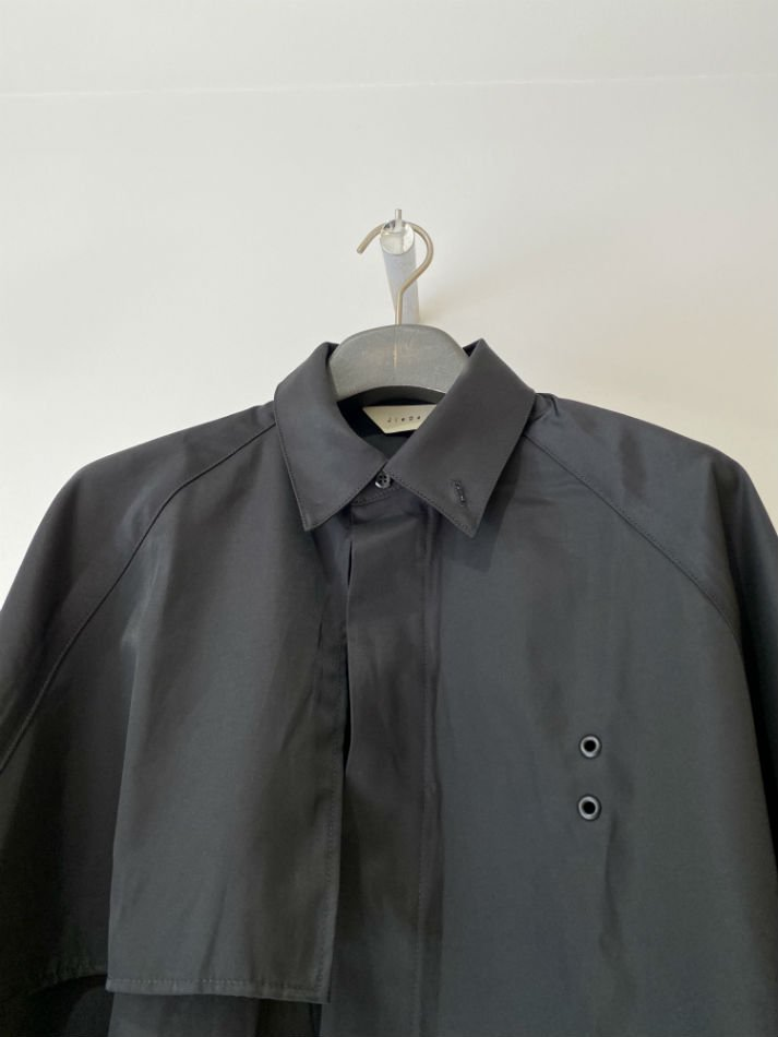 JieDa<br />TRENCH SHIRTS BLACK<img class='new_mark_img2' src='//img.shop-pro.jp/img/new/icons47.gif' style='border:none;display:inline;margin:0px;padding:0px;width:auto;' />