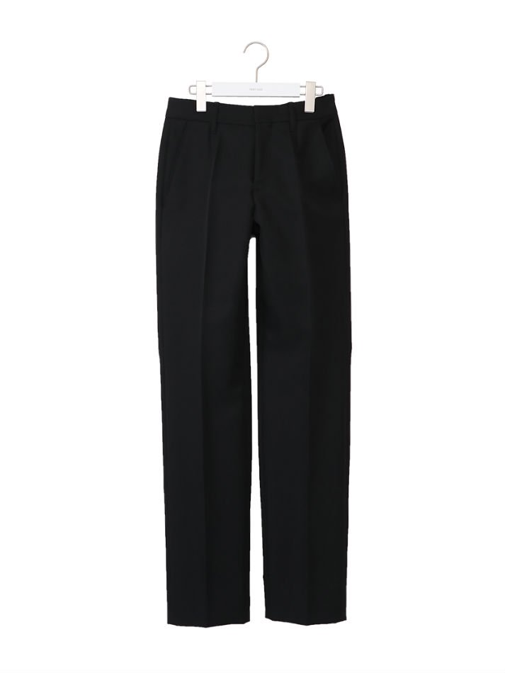 NEON SIGN<br />Slim Tapered Slacks / Black<img class='new_mark_img2' src='https://img.shop-pro.jp/img/new/icons47.gif' style='border:none;display:inline;margin:0px;padding:0px;width:auto;' />