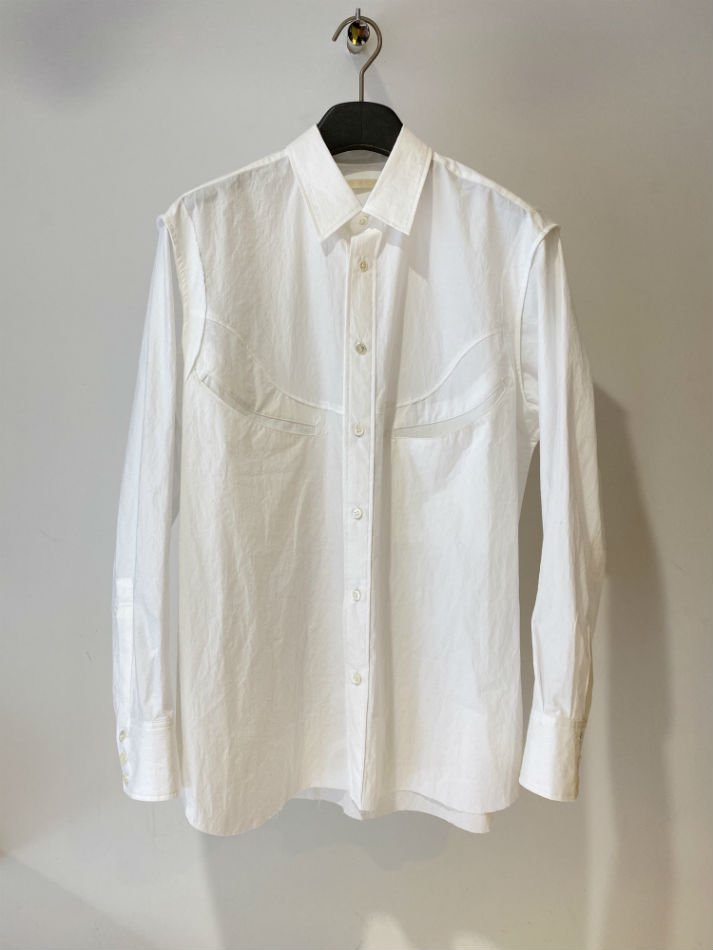 KHOKI<br />[30%off] Moon western shirt / White<img class='new_mark_img2' src='https://img.shop-pro.jp/img/new/icons20.gif' style='border:none;display:inline;margin:0px;padding:0px;width:auto;' />