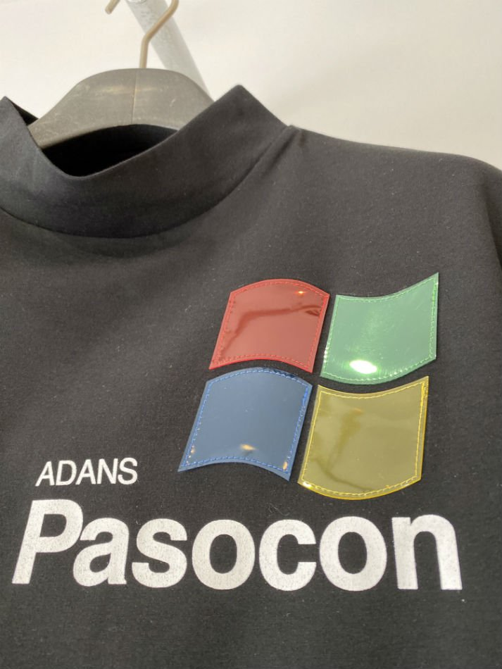 ADANS<br />PASOCON TEE / BLACK<img class='new_mark_img2' src='//img.shop-pro.jp/img/new/icons14.gif' style='border:none;display:inline;margin:0px;padding:0px;width:auto;' />