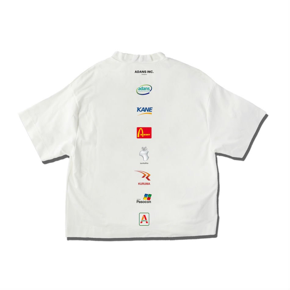 ADANS<br />ADANS INC. TEE / WHITE<img class='new_mark_img2' src='https://img.shop-pro.jp/img/new/icons47.gif' style='border:none;display:inline;margin:0px;padding:0px;width:auto;' />