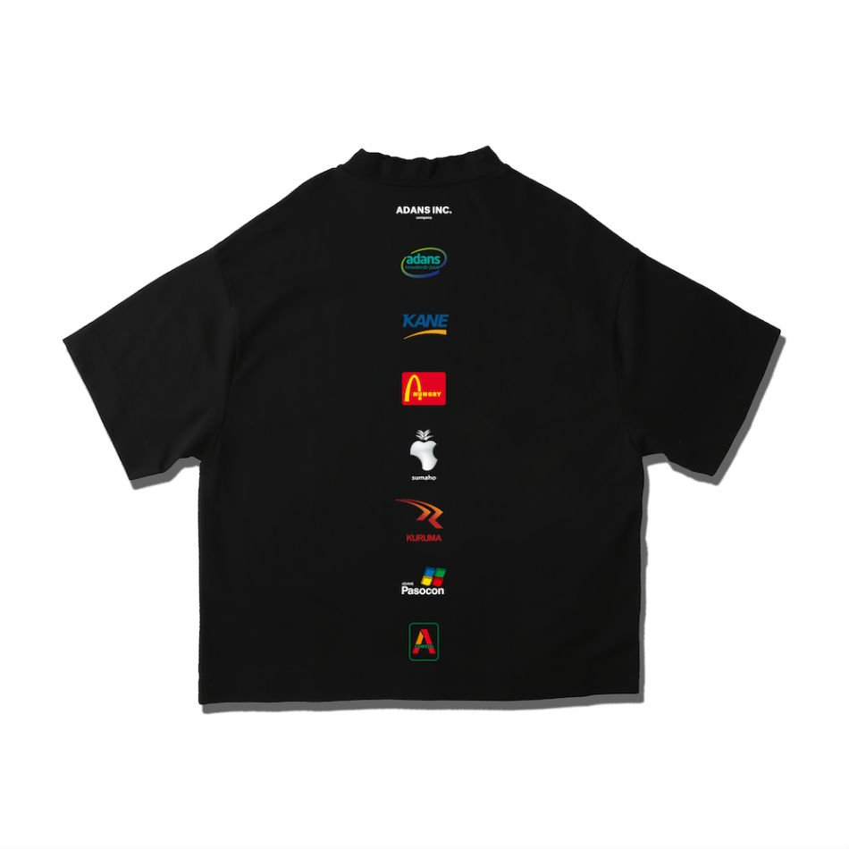 ADANS<br />ADANS INC. TEE / BLACK<img class='new_mark_img2' src='https://img.shop-pro.jp/img/new/icons47.gif' style='border:none;display:inline;margin:0px;padding:0px;width:auto;' />