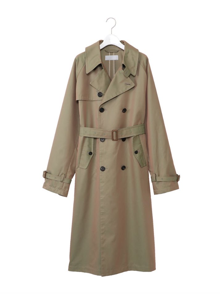 NEON SIGN<br />Space Trench Coat / Olive<img class='new_mark_img2' src='https://img.shop-pro.jp/img/new/icons47.gif' style='border:none;display:inline;margin:0px;padding:0px;width:auto;' />