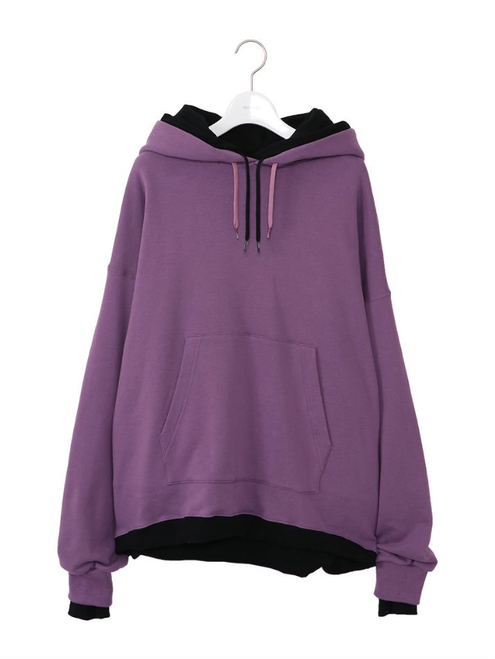 NEON SIGN<br />Sandwich Hoodie / Purple<img class='new_mark_img2' src='//img.shop-pro.jp/img/new/icons14.gif' style='border:none;display:inline;margin:0px;padding:0px;width:auto;' />