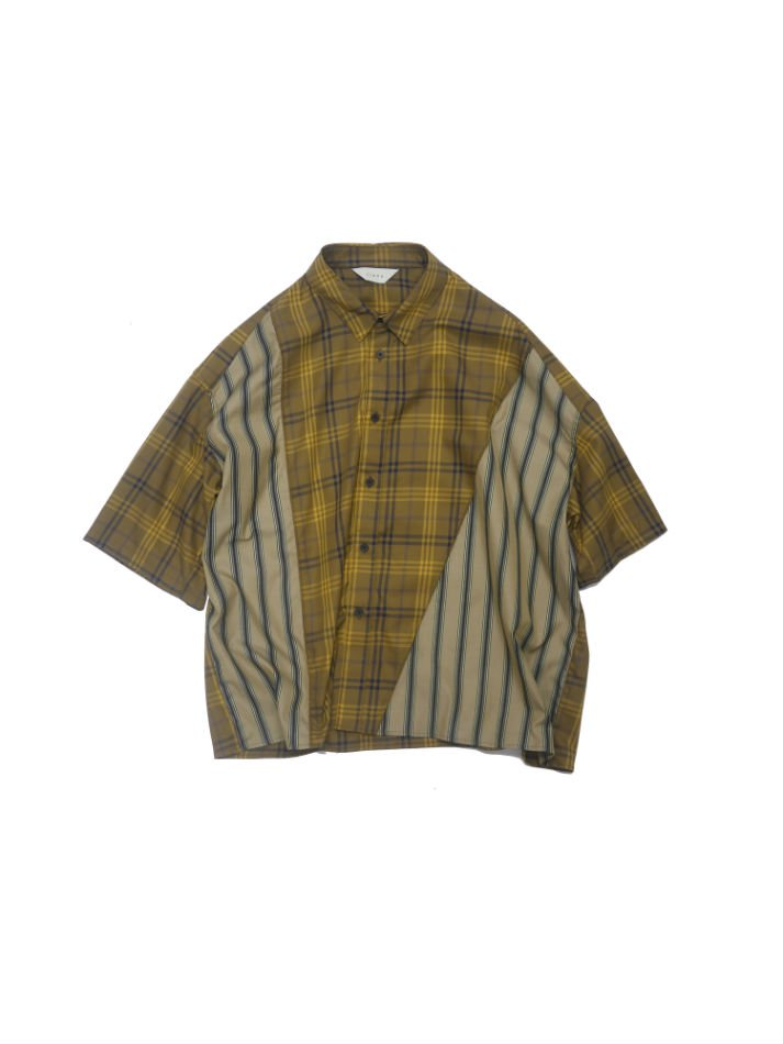 JieDa<br />ASYMMETRY S/S SHIRT / CAMEL <img class='new_mark_img2' src='//img.shop-pro.jp/img/new/icons14.gif' style='border:none;display:inline;margin:0px;padding:0px;width:auto;' />