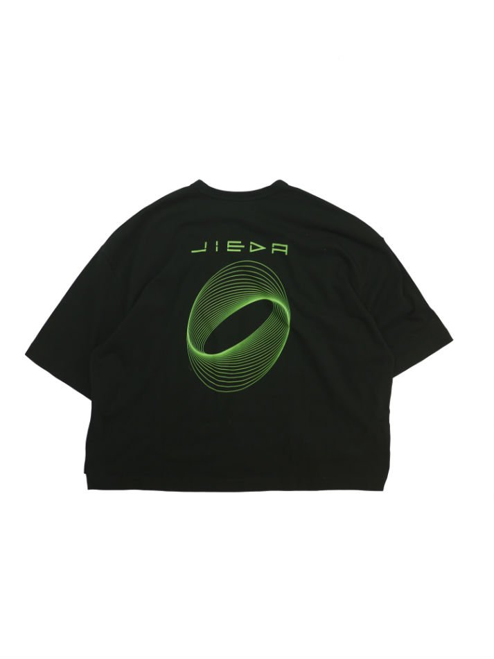 JieDa<br />CIRCLE PRINT T-SHIRT / BLACK<img class='new_mark_img2' src='//img.shop-pro.jp/img/new/icons14.gif' style='border:none;display:inline;margin:0px;padding:0px;width:auto;' />
