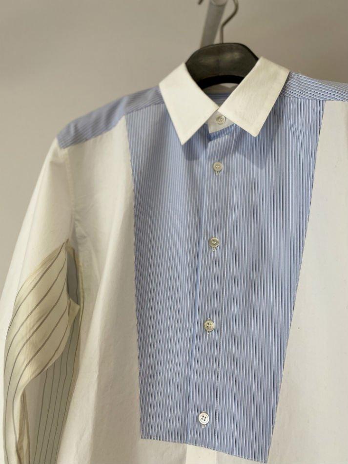 KHOKI<br />Moon morning shirt / White<img class='new_mark_img2' src='https://img.shop-pro.jp/img/new/icons47.gif' style='border:none;display:inline;margin:0px;padding:0px;width:auto;' />