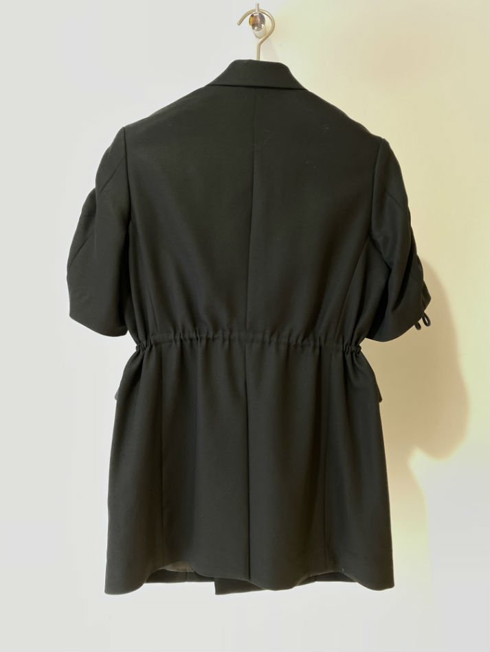 ALLEGE<br />[40%off] Short Sleeve W Jacket / BLACK<img class='new_mark_img2' src='https://img.shop-pro.jp/img/new/icons20.gif' style='border:none;display:inline;margin:0px;padding:0px;width:auto;' />