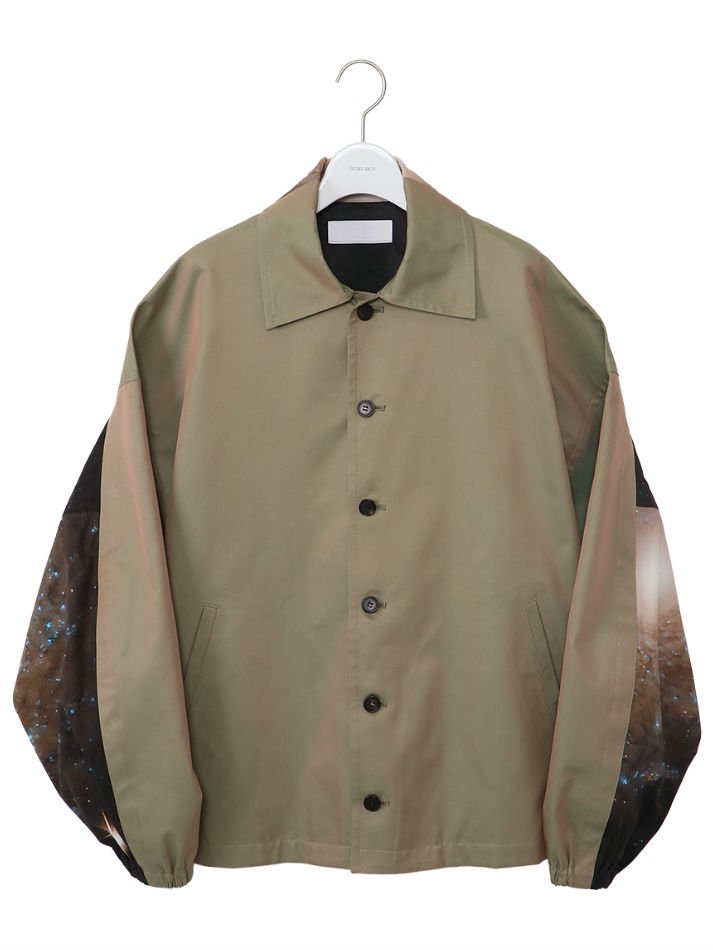 NEON SIGN<br />Cosmo Barred Space Jacket / Olive<img class='new_mark_img2' src='https://img.shop-pro.jp/img/new/icons47.gif' style='border:none;display:inline;margin:0px;padding:0px;width:auto;' />