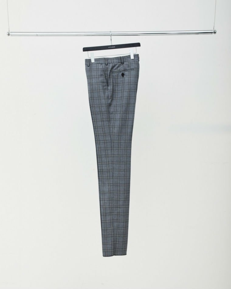 LITTLEBIG<br />[30%off] Check Slim Trousers /Grey<img class='new_mark_img2' src='https://img.shop-pro.jp/img/new/icons20.gif' style='border:none;display:inline;margin:0px;padding:0px;width:auto;' />