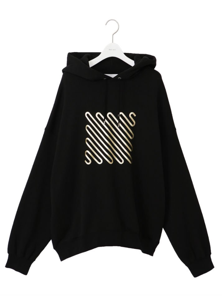 NEON SIGN<br />Iconfoil Hoodie / Black×Gold<img class='new_mark_img2' src='//img.shop-pro.jp/img/new/icons14.gif' style='border:none;display:inline;margin:0px;padding:0px;width:auto;' />
