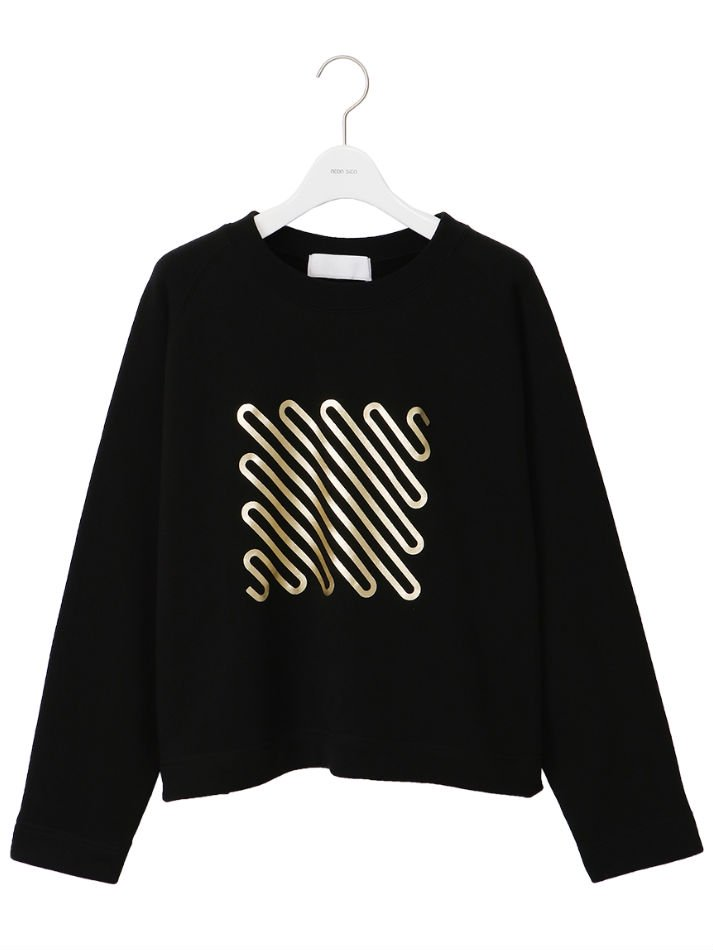 NEON SIGN<br />[40%off] Iconfoil Frared Sweat / Black×Gold<img class='new_mark_img2' src='https://img.shop-pro.jp/img/new/icons20.gif' style='border:none;display:inline;margin:0px;padding:0px;width:auto;' />