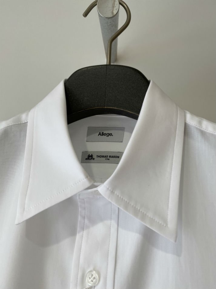 ALLEGE<br />[40%off] Gather Sleeve Shirt / WHITE<img class='new_mark_img2' src='https://img.shop-pro.jp/img/new/icons20.gif' style='border:none;display:inline;margin:0px;padding:0px;width:auto;' />