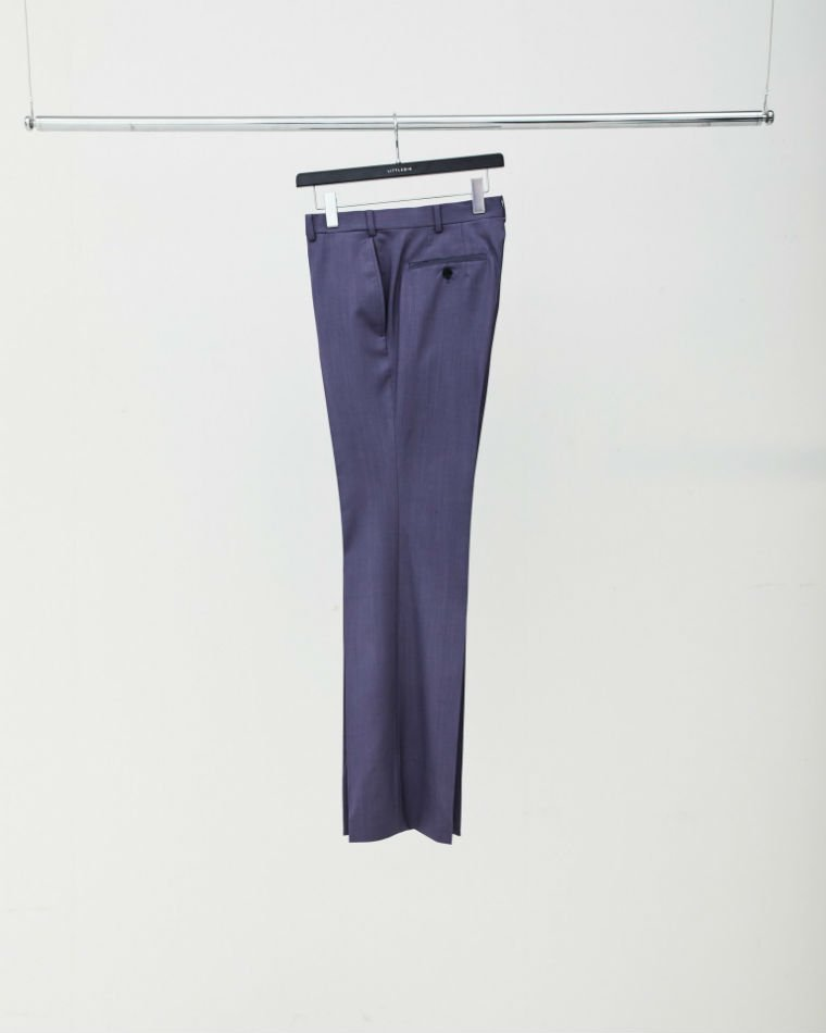 LITTLEBIG<br />Purple Flare Trousers<img class='new_mark_img2' src='//img.shop-pro.jp/img/new/icons47.gif' style='border:none;display:inline;margin:0px;padding:0px;width:auto;' />