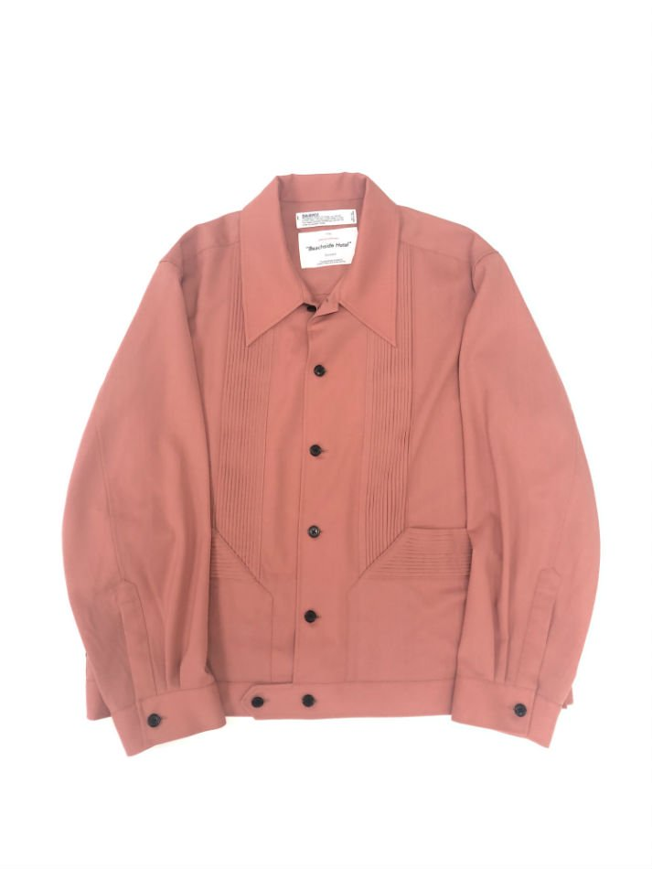 DAIRIKU<br />Summer Cuba Shirt Jacket / PinkBeige<img class='new_mark_img2' src='https://img.shop-pro.jp/img/new/icons14.gif' style='border:none;display:inline;margin:0px;padding:0px;width:auto;' />