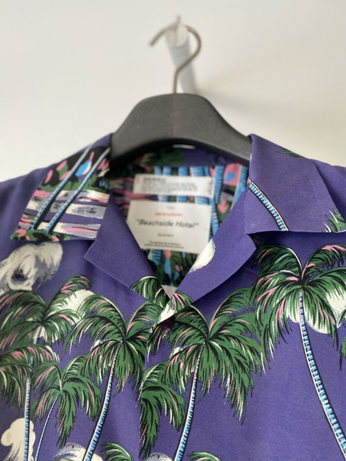 DAIRIKU<br />INTERMISSION Aloha Shirt / Night Purple<img class='new_mark_img2' src='//img.shop-pro.jp/img/new/icons47.gif' style='border:none;display:inline;margin:0px;padding:0px;width:auto;' />