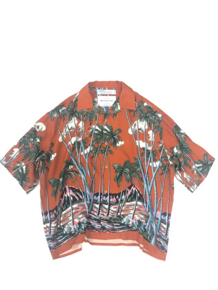 DAIRIKU<br />INTERMISSION Aloha Shirt / Sunset Orange<img class='new_mark_img2' src='https://img.shop-pro.jp/img/new/icons47.gif' style='border:none;display:inline;margin:0px;padding:0px;width:auto;' />