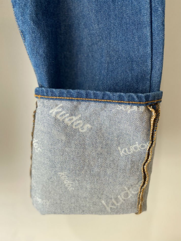 kudos<br />[30%off] ONE LONG DENIM TROUSERS / BIO<img class='new_mark_img2' src='https://img.shop-pro.jp/img/new/icons20.gif' style='border:none;display:inline;margin:0px;padding:0px;width:auto;' />