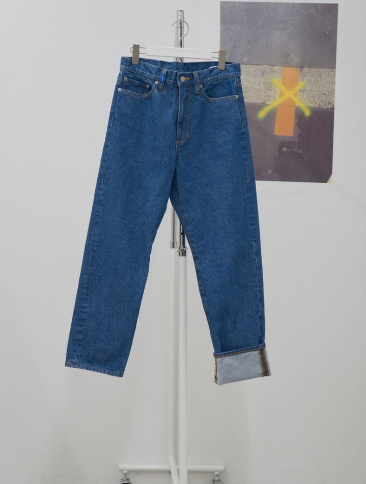 kudos<br />ONE LONG DENIM TROUSERS / BIO<img class='new_mark_img2' src='https://img.shop-pro.jp/img/new/icons14.gif' style='border:none;display:inline;margin:0px;padding:0px;width:auto;' />