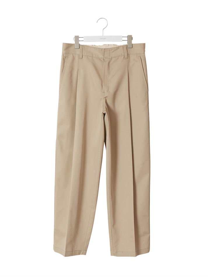 NEON SIGN<br />Wide Work Slacks / Khaki<img class='new_mark_img2' src='https://img.shop-pro.jp/img/new/icons14.gif' style='border:none;display:inline;margin:0px;padding:0px;width:auto;' />