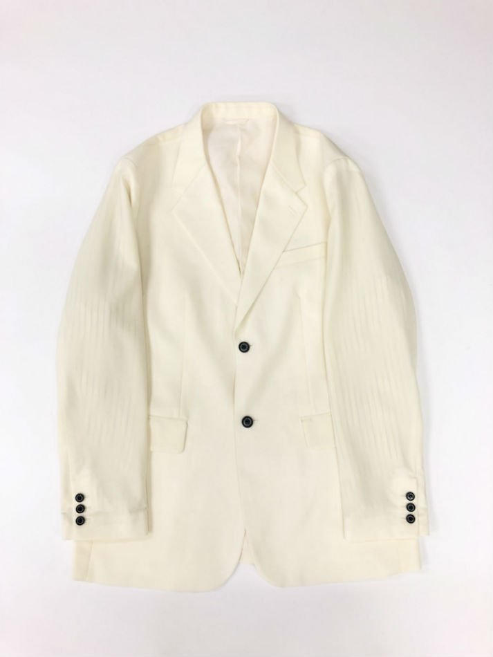 DAIRIKU<br />Oversized Tailored Jacket / White