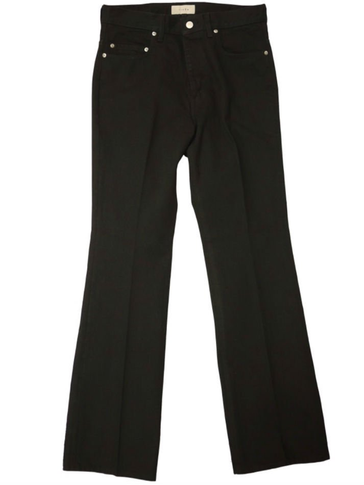 JieDa<br />OW FLARE DENIM PANTS / BLACK <img class='new_mark_img2' src='https://img.shop-pro.jp/img/new/icons14.gif' style='border:none;display:inline;margin:0px;padding:0px;width:auto;' />