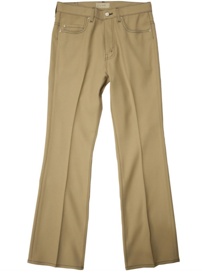 JieDa<br />FLARE PANTS / BEIGE <img class='new_mark_img2' src='https://img.shop-pro.jp/img/new/icons47.gif' style='border:none;display:inline;margin:0px;padding:0px;width:auto;' />