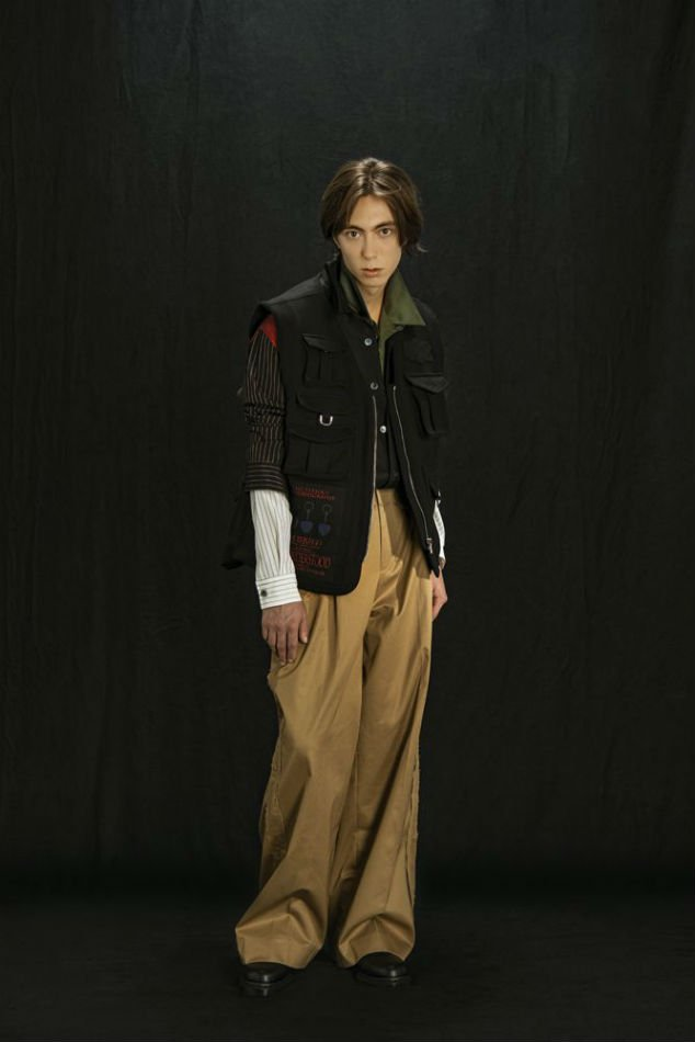 YUKI HASHIMOTO<br />LAYERED WIDE TROUSERS / CAMEL <img class='new_mark_img2' src='https://img.shop-pro.jp/img/new/icons47.gif' style='border:none;display:inline;margin:0px;padding:0px;width:auto;' />