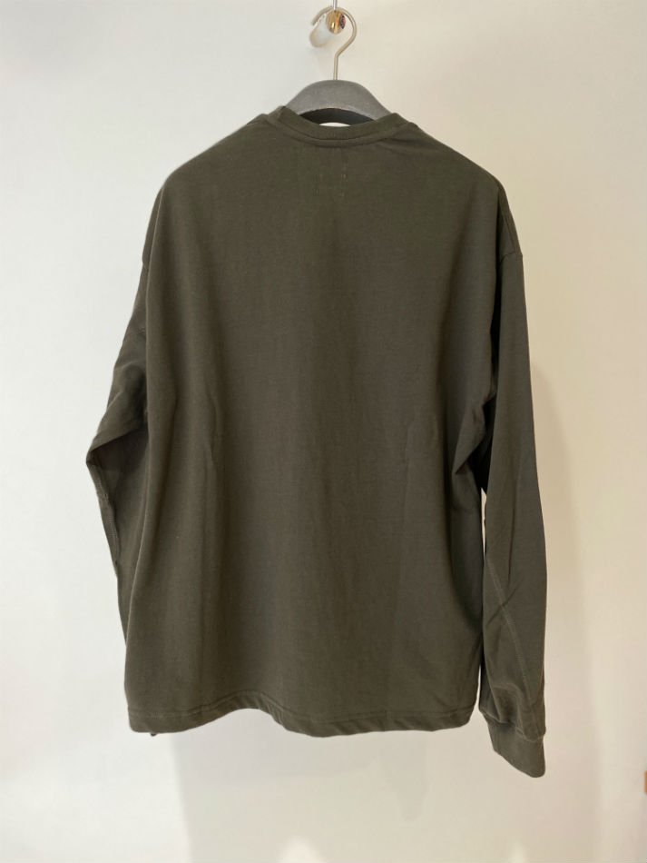 JieDa<br />L/S T-SHIRT FRUIT OF THE LOOM / KHAKI  <img class='new_mark_img2' src='https://img.shop-pro.jp/img/new/icons47.gif' style='border:none;display:inline;margin:0px;padding:0px;width:auto;' />