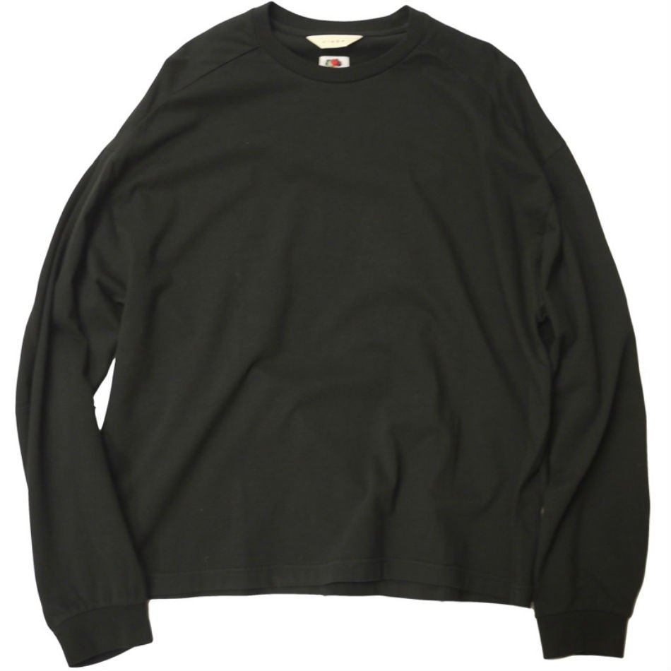 JieDa<br />L/S T-SHIRT FRUIT OF THE LOOM / BLACK  <img class='new_mark_img2' src='https://img.shop-pro.jp/img/new/icons14.gif' style='border:none;display:inline;margin:0px;padding:0px;width:auto;' />