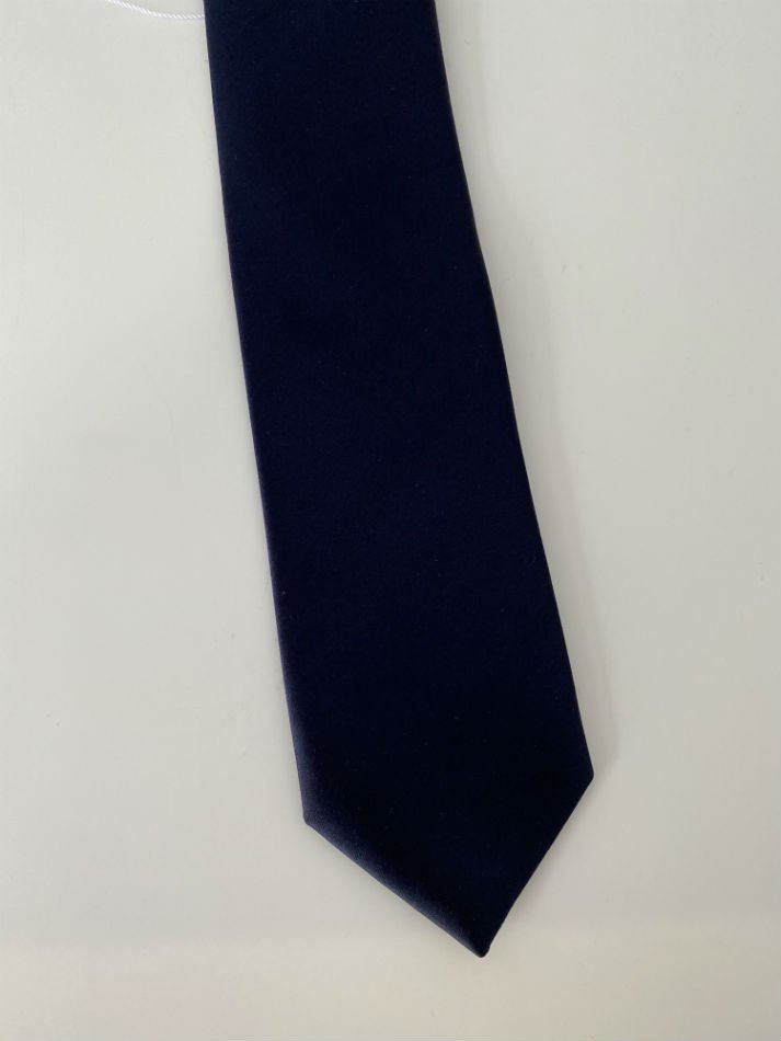 LITTLEBIG<br />Plain Satin Tie /  Navy