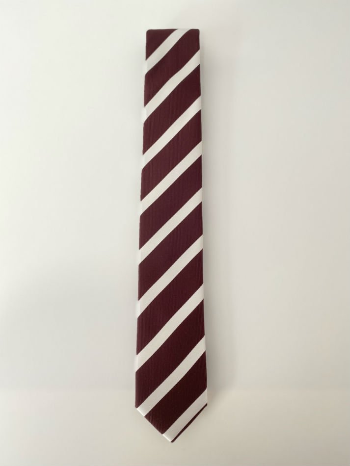 LITTLEBIG<br />Stripe Silk Tie / Bordeaux <img class='new_mark_img2' src='https://img.shop-pro.jp/img/new/icons14.gif' style='border:none;display:inline;margin:0px;padding:0px;width:auto;' />