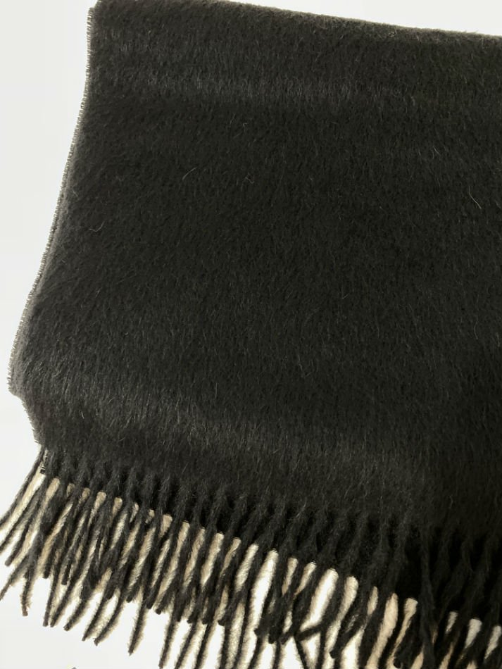LITTLEBIG<br />Wool Scarf / Black 