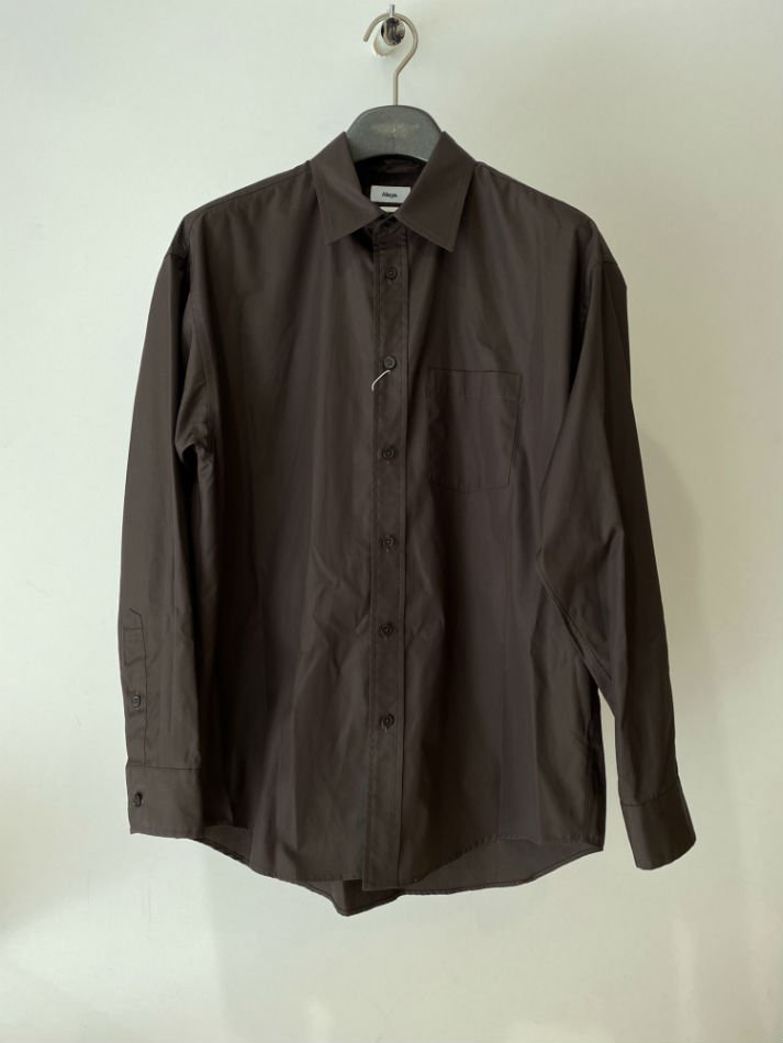 ALLEGE<br />Standard Shirt / BROWN 