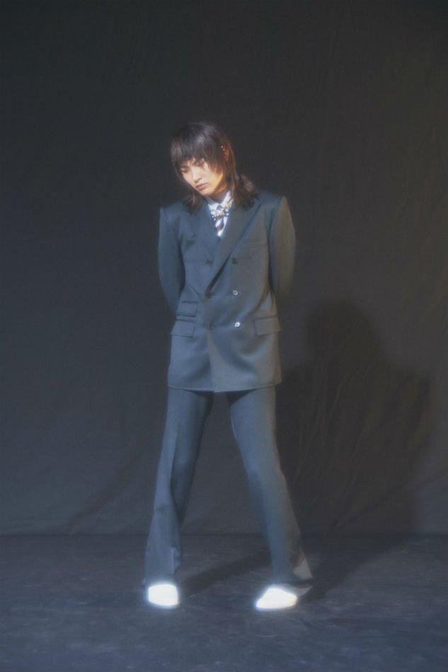 LITTLEBIG<br />Double Breasted Jacket & Flare Trousers SET / Black <img class='new_mark_img2' src='https://img.shop-pro.jp/img/new/icons47.gif' style='border:none;display:inline;margin:0px;padding:0px;width:auto;' />