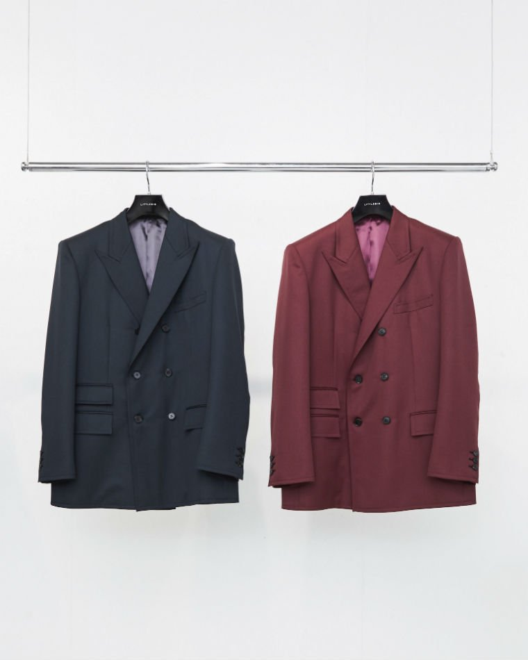 LITTLEBIG<br />Double Breasted Jacket & Flare Trousers SET / Bordeaux