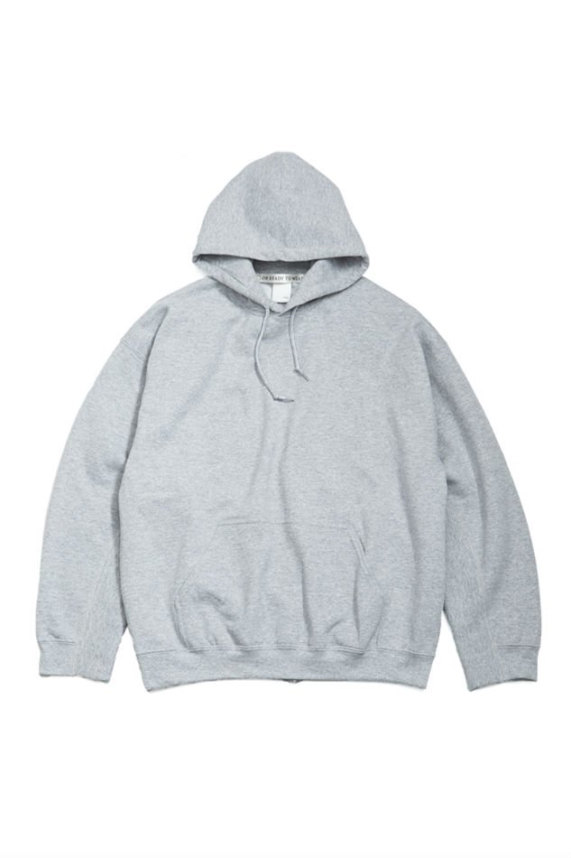 soe<br />Elbow Patched Back Open Hoodie collaborated PRE_ / GRAY <img class='new_mark_img2' src='https://img.shop-pro.jp/img/new/icons14.gif' style='border:none;display:inline;margin:0px;padding:0px;width:auto;' />