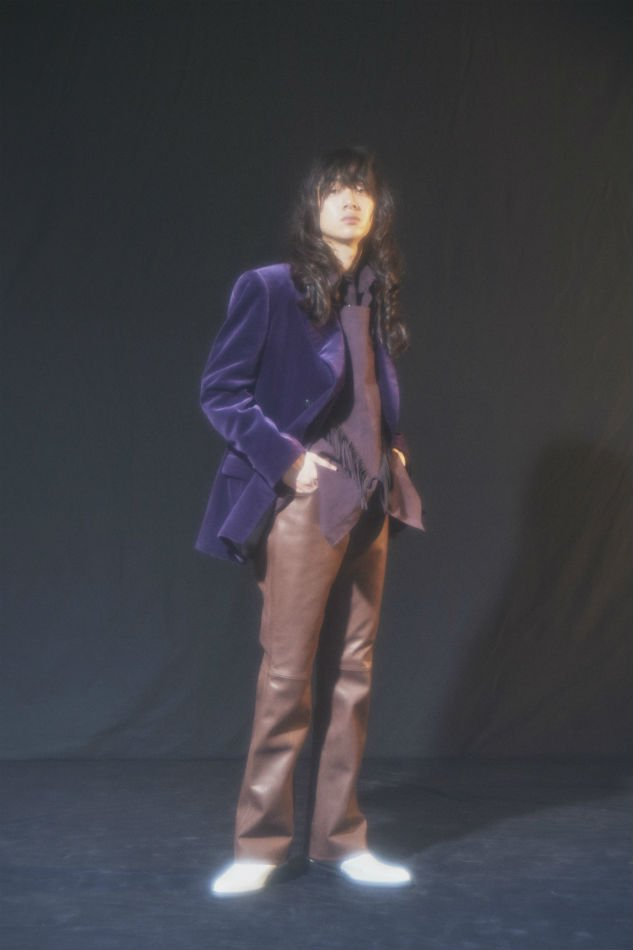LITTLEBIG<br />Velvet 4B Double Breasted Jacket & Trousers SET / Purple