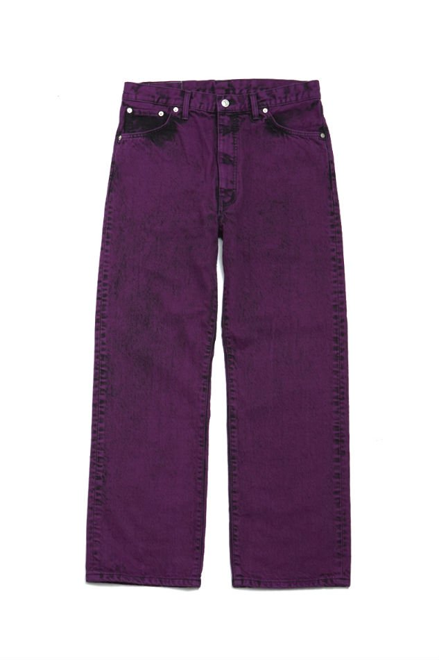 soe<br />Bleach Color Jeans collaborated with EDWIN / PURPLE <img class='new_mark_img2' src='https://img.shop-pro.jp/img/new/icons14.gif' style='border:none;display:inline;margin:0px;padding:0px;width:auto;' />