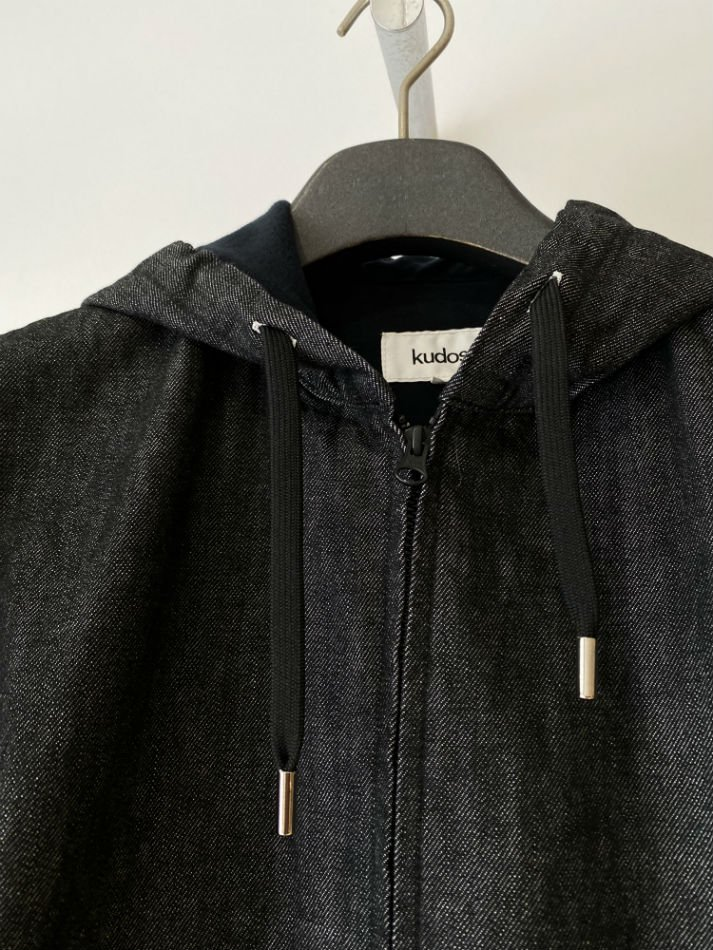 kudos<br />PLAY DENIM JACKET / BLACK