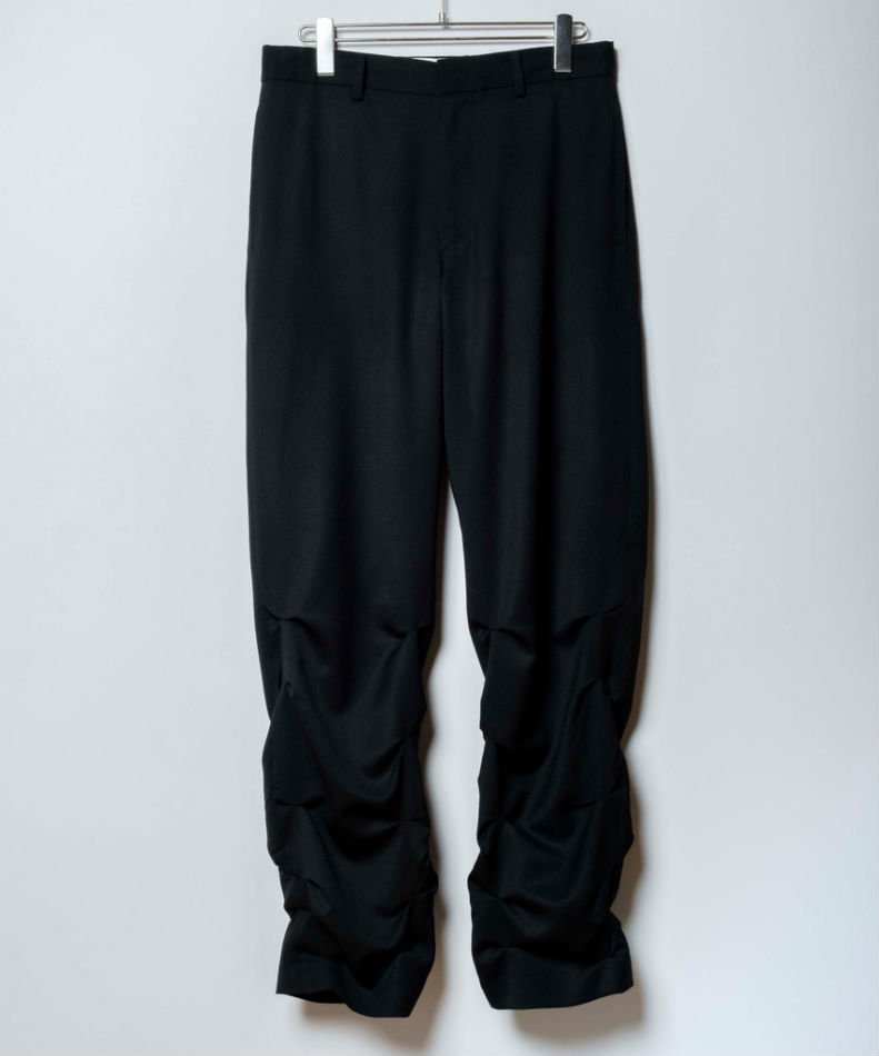 kudos<br />TACK TACK TROUSERS / BLACK <img class='new_mark_img2' src='https://img.shop-pro.jp/img/new/icons14.gif' style='border:none;display:inline;margin:0px;padding:0px;width:auto;' />