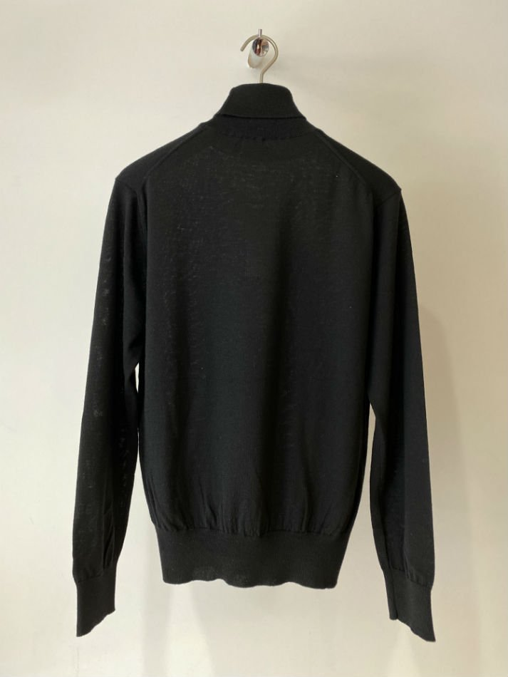 ALLEGE<br />Standard Turtleneck Knit / BLACK