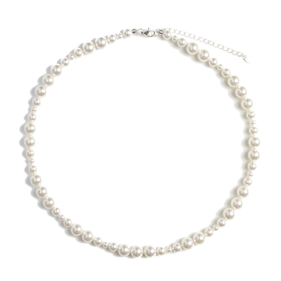 BUYING ITEM<br />mix pearl necklace (S)