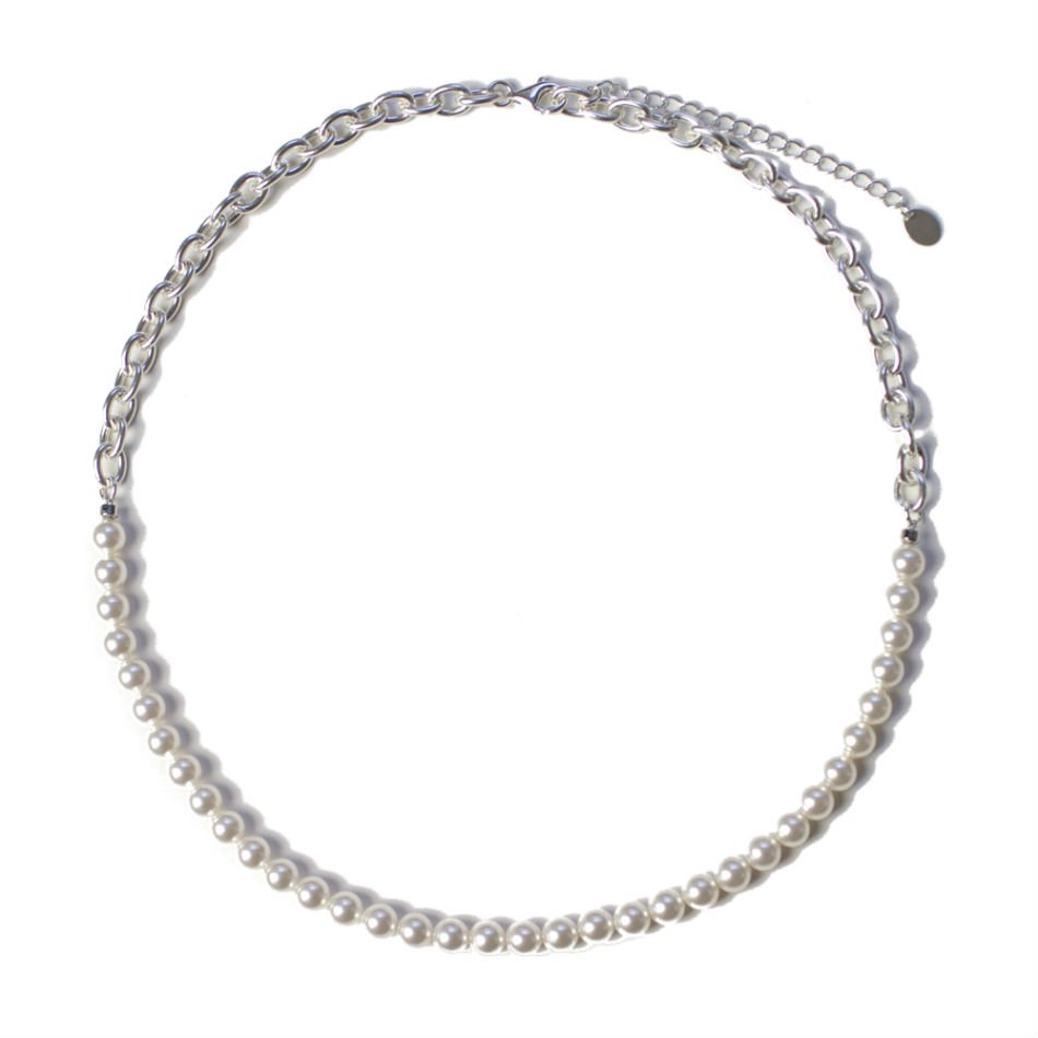 BUYING ITEM<br />switching pearl necklace(6mm)