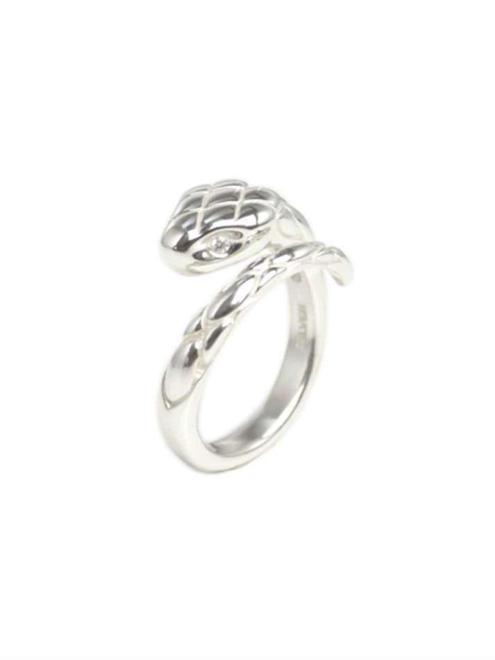BUYING ITEM<br />snake ring(with diamond)