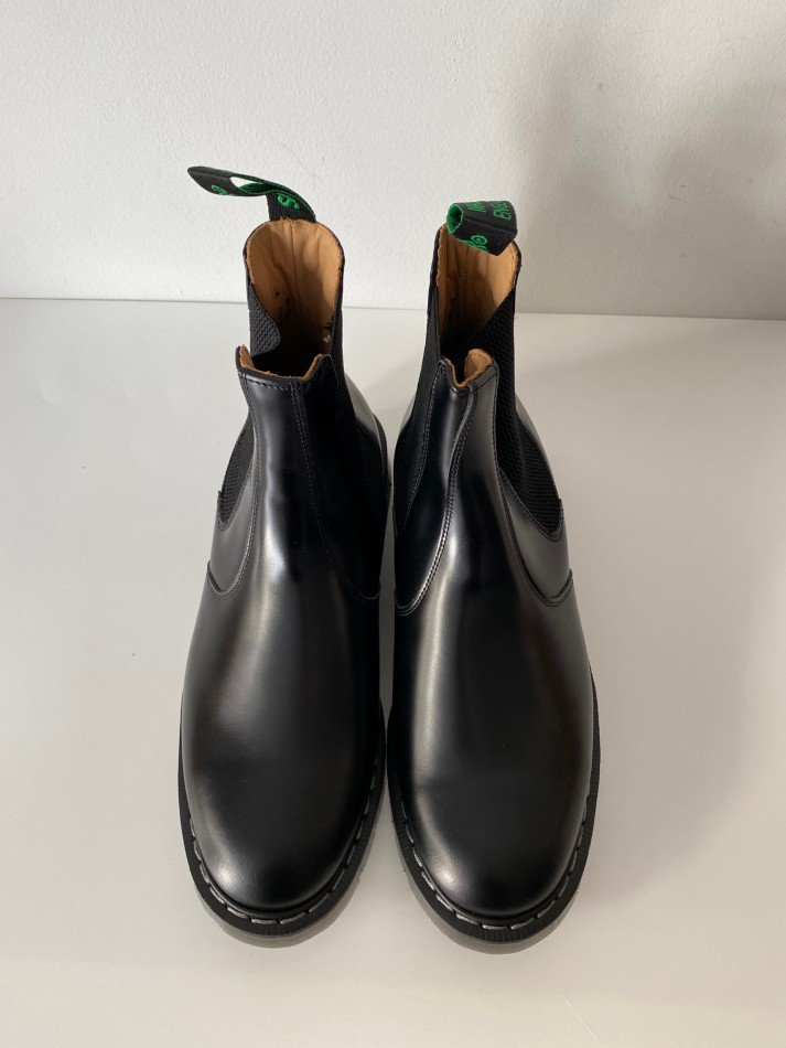 SOLOVAIR<br />THE DEALER BOOT / BLACK <img class='new_mark_img2' src='https://img.shop-pro.jp/img/new/icons14.gif' style='border:none;display:inline;margin:0px;padding:0px;width:auto;' />