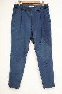 RHOMBIC PATCH PANTS / INDIGO