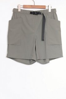 NYLON EASY SHORTS / OLIVE