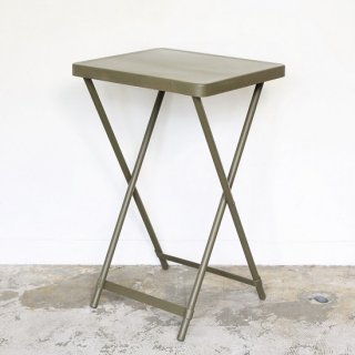 DEAD STOCK / U.S.ARMY / METAL FOLDING TABLE / OLIVE DRAB / 50-60's