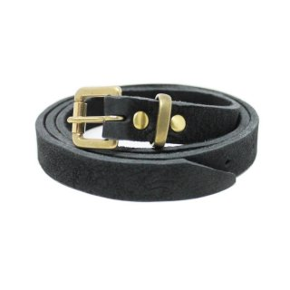 NARROW BELT / BLACK